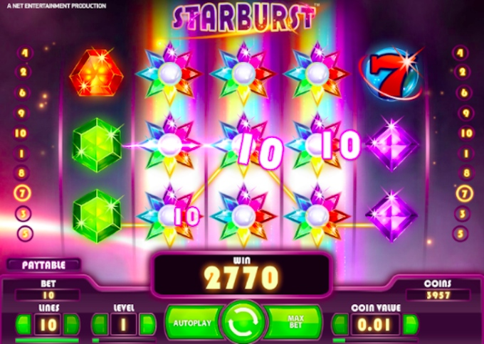 Starburst slot Wilds