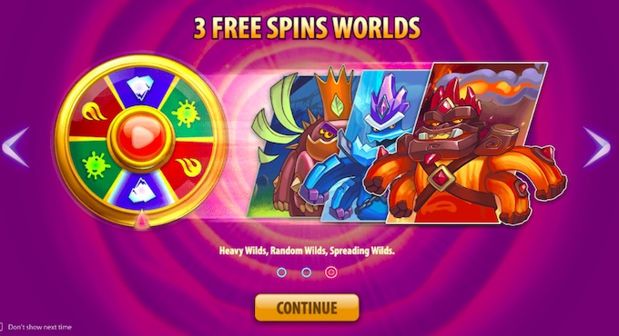 Wild World free spins