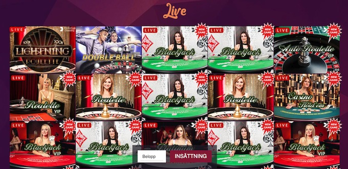 Bajungo Live Casino