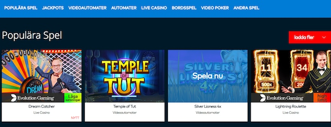 Fun Casino spel