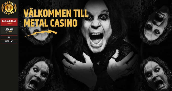 Metal Casino bonus