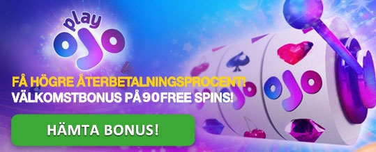 Play Ojo casino bonus