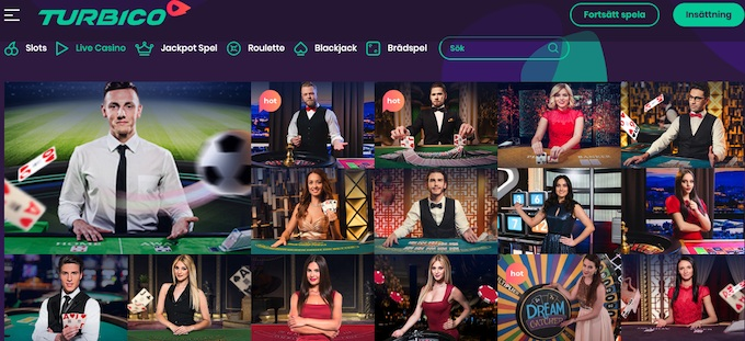 Turbico Live Casino